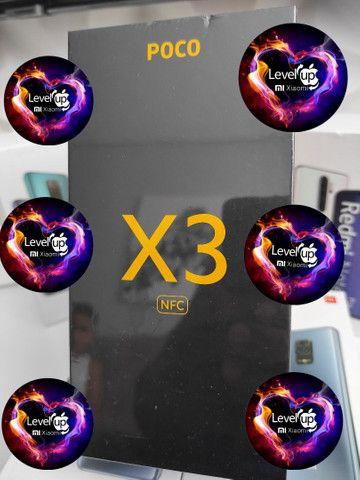 O melhor de 2021! POCO X3 da Xiaomi.. NOVO LACRADO COM GARANTIA