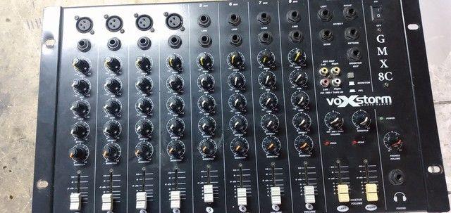 Mesa de som 8 canais  - Foto 2