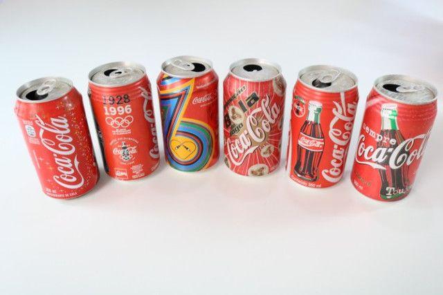 Latas de Coca-cola para colecionador - Foto 4