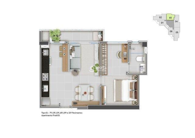 Apartamento à venda, 2 quartos, 1 suíte, 2 vagas, Santa Efigênia - Belo Horizonte/MG - Foto 16