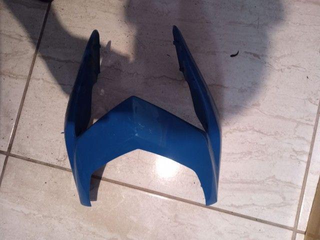 Peças da Bros 150 e 160 azul  - Foto 4