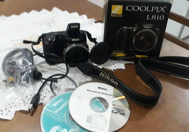 Câmera Fotográfica Nikon Usada - Foto 3
