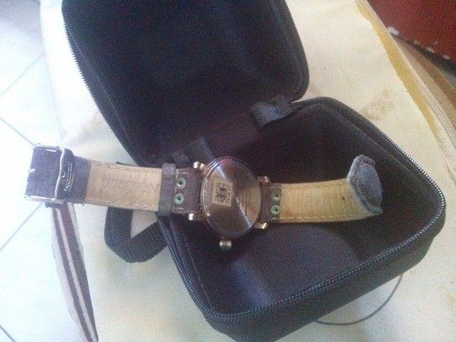 Relógio de pulso feminino e masculino - Foto 4