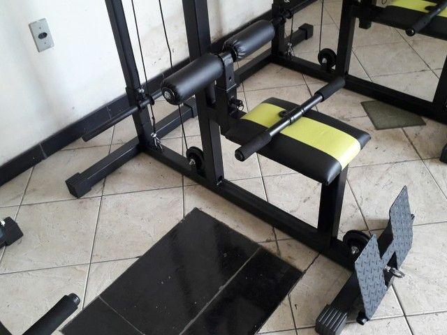 Musculação - Puxador Pulley com remada baixa ( Produto novo ) - Foto 4