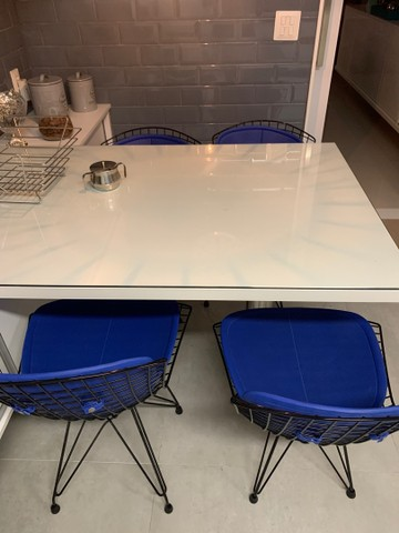Conjunto 4 cadeiras Herman Miller