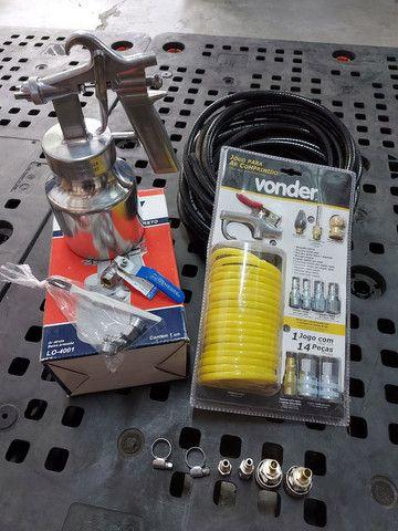 Kit p/ Compressor de Ar - 4Pçs