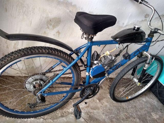 Bicicleta motorizada nova - Foto 3