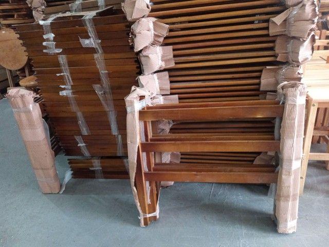 Super saldão Beliche de madeira Reto  0,80 x 1,90 R$280,00 cada - Foto 2