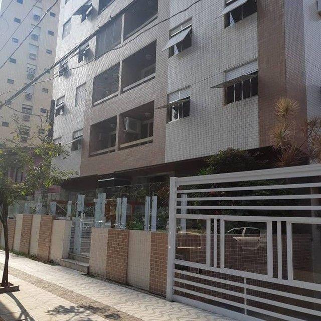 Amplo e arejado apartamento de 3 dorms (1 suíte) à venda no Gonzaga em Santos ? SP - Foto 3