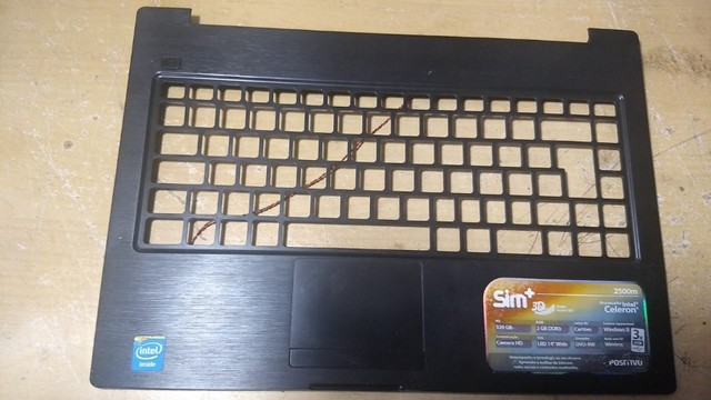 Carcaça Base Superior Notebook Positivo Sim+ 2500m - 108
