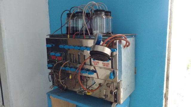 Máquina De Recarga De Cartucho Profissional Com Vacuômetro