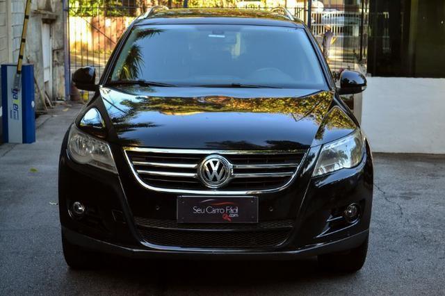 VW Tiguan - Impecável - Bancos em couro + Park Assist - 2010 - Foto 6