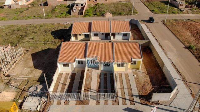 Casa com 2 dormitórios à venda, 42 m² por r$ 130.000 - estados - fazenda rio grande/pr - Foto 2