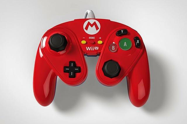 Controle de Game Cube PDP do Mario para Nintendo Wii-U