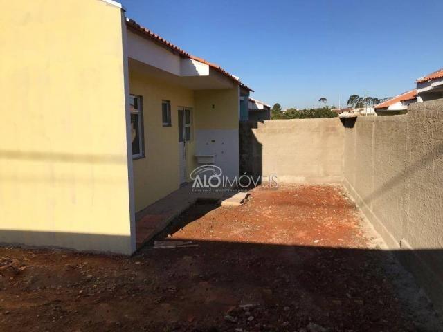 Casa com 2 dormitórios à venda, 42 m² por r$ 130.000 - estados - fazenda rio grande/pr - Foto 12