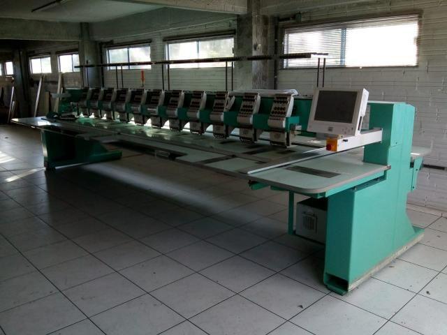 Máquina de bordar Tagima 12 cabeças - Foto 2