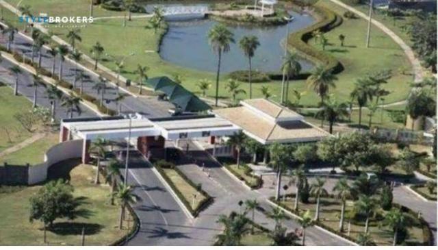 Terreno no Condomínio Florais dos Lagos à venda, 702 m² por R$ 380.000 - Condomínio Reside