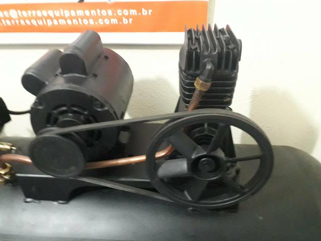 Compressor Schulz 10 pés 175 litros - Foto 4