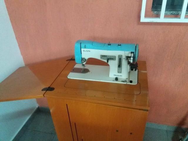 Máquina de costura Elgin ultramatic - Foto 2