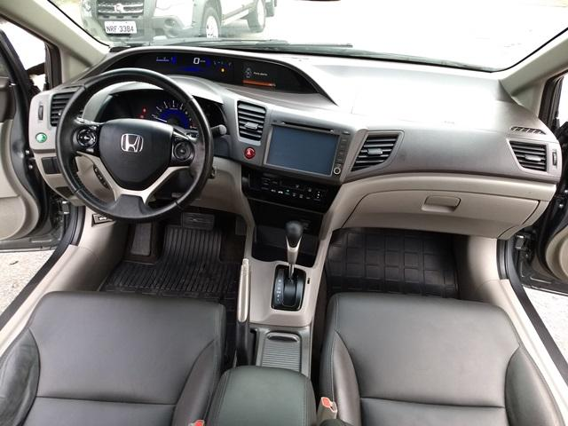 Honda Civic CIVIC SEDAN LXS 1.8/1.8 FLEX 16V AUT. 4P - Foto 9