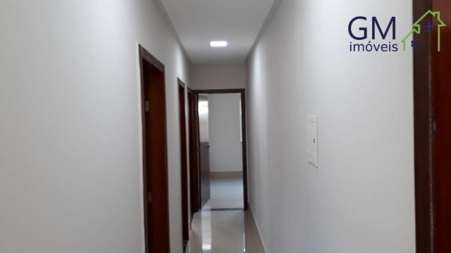 Casa a venda / condomínio jardim europa ii / 03 quartos / churrasqueira / garagem / aceita - Foto 15