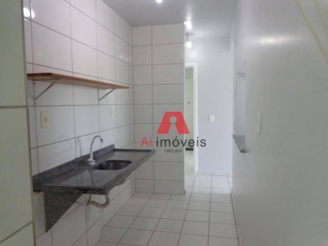 Apartamento com 2 dormitórios para alugar no via parque, 49 m² por r$ 937/mês - floresta s - Foto 12