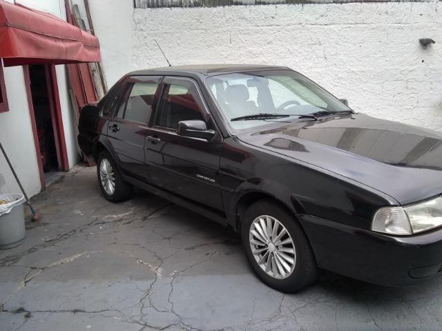 Volkswagen santana confortline, 4 portas, cor preto, completo, alcool e gnv - Foto 2
