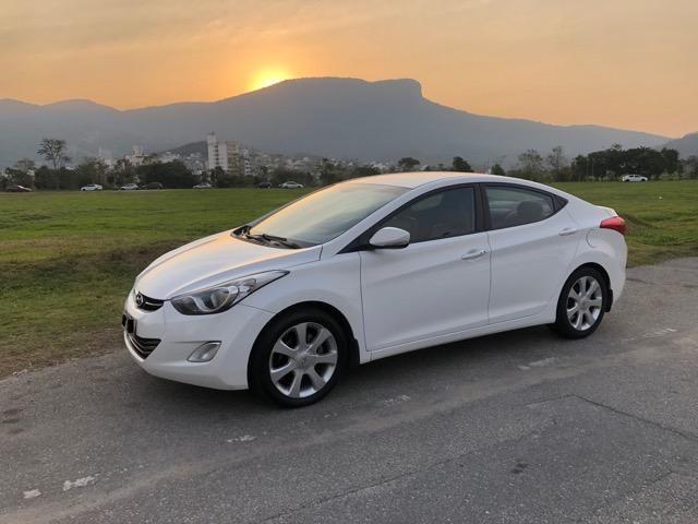 Hyundai Elantra GLS 1.8 AUT Branco