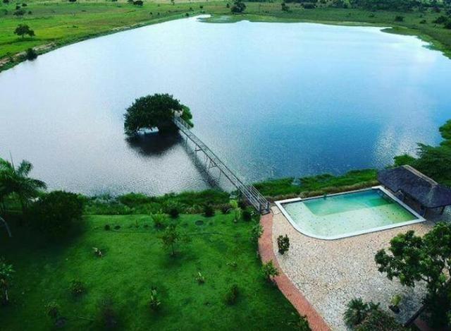 Fazenda em Livramento há 44 km Cuiabá com piscina, muito pasto, represas e lago - Foto 4