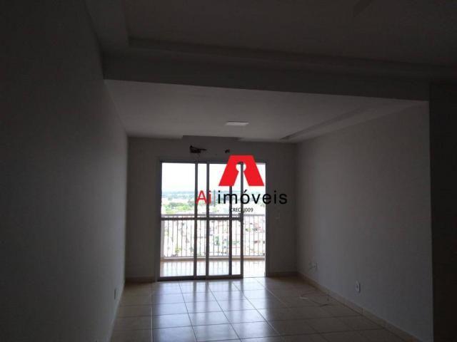Apartamento com 2 dormitórios e 1 suíte com closet, para alugar, 110 m² por r$ 2.600/mês - - Foto 4