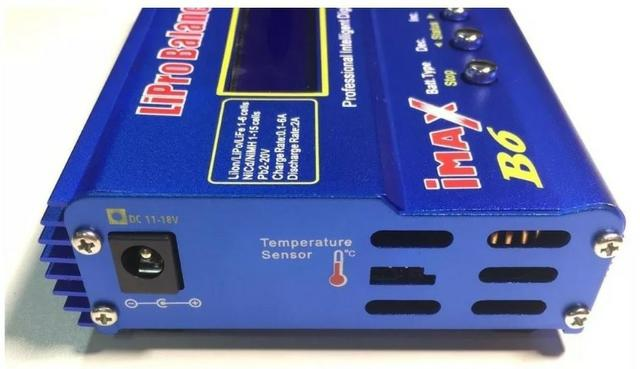 Carregador Bateria Lipo Imax B6 80w - Foto 3