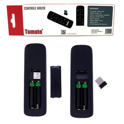 Controle Wireless Mouse MCT-103 Tomate Giroscópio Para Computador Tv Box Smart Tv Android - Foto 4