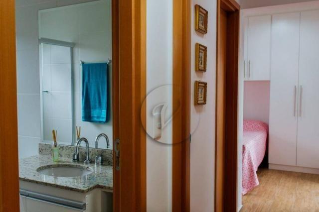 Apartamento com 3 dormitórios para alugar, 90 m² por r$ 2.800/mês - jardim bela vista - sa - Foto 18