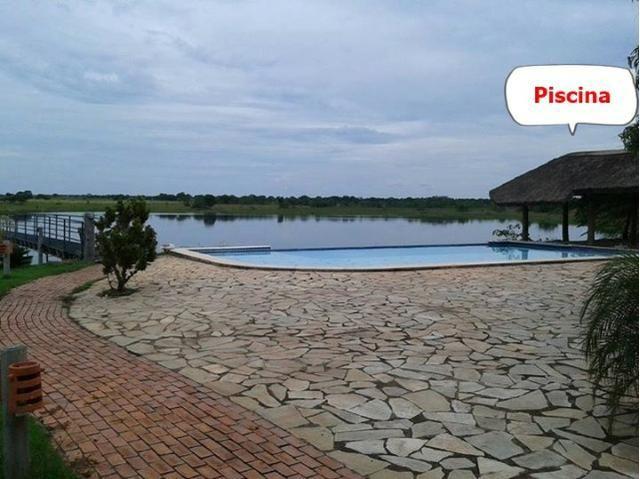 Fazenda em Livramento há 44 km Cuiabá com piscina, muito pasto, represas e lago - Foto 11