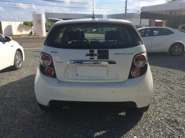 Chevrolet sonic 1.6 ltz 16v flex manual 2012/2012 branco - Foto 8