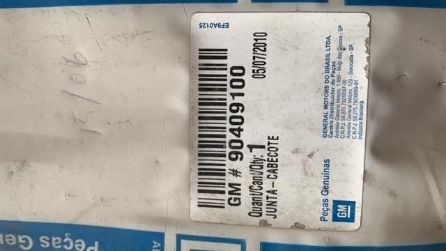 Junta Cabecote Corsa 1.0 8v Gas Alc Efi Mpfi Gm 1994/2002 Número de peça * - Foto 2