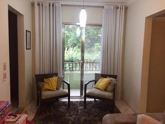 Apartamento com 3 dormitórios à venda, 65 m² por r$ 259.990,00 - jardim pacaembu - valinho