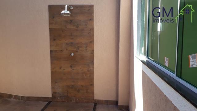 Casa a venda / condomínio jardim europa ii / 03 quartos / churrasqueira / garagem / aceita - Foto 9