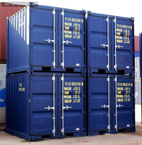 Container marítimo almoxarifado 03 metros 10 pés marítimo usado (baby) - Foto 2