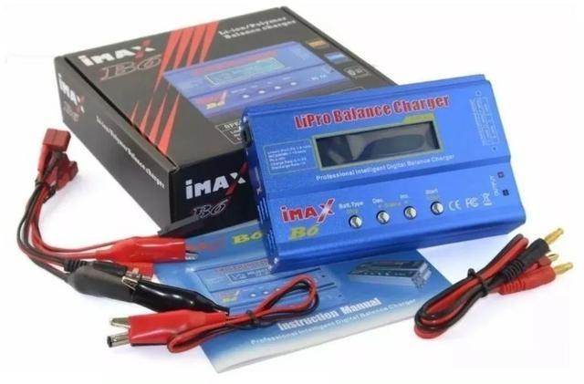 Carregador Bateria Lipo Imax B6 80w