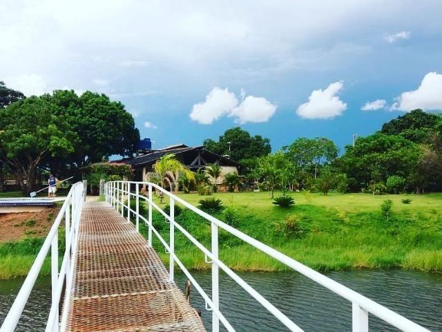 Fazenda em Livramento há 44 km Cuiabá com piscina, muito pasto, represas e lago - Foto 9