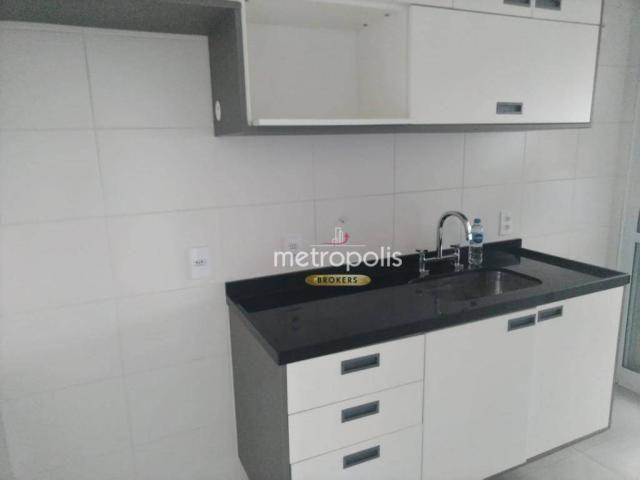 Apartamento com 2 dormitórios para alugar, 69 m² por r$ 2.500/mês - cerâmica - são caetano - Foto 9