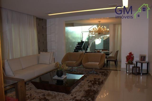 Casa a venda / setor de mansões / 4 suítes / piscina / churrasqueira / varanda / sobradinh - Foto 8