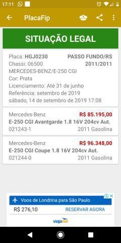 Mercedez Benz E 250 Advantgarde - Foto 9