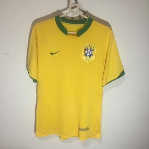 770a7665907bd Camisa Brasil Copa Do Mundo 2006 - Roupas e calçados - Plano Diretor ...