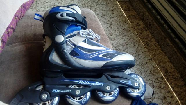 7458a029fad30 Patins traxart rolling star roler roller - Esportes e ginástica ...