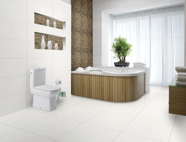 Revestimento Branco Liso R$ 22,90m² Extra > Casa Nur - O Outlet do Acabamento - Foto 5