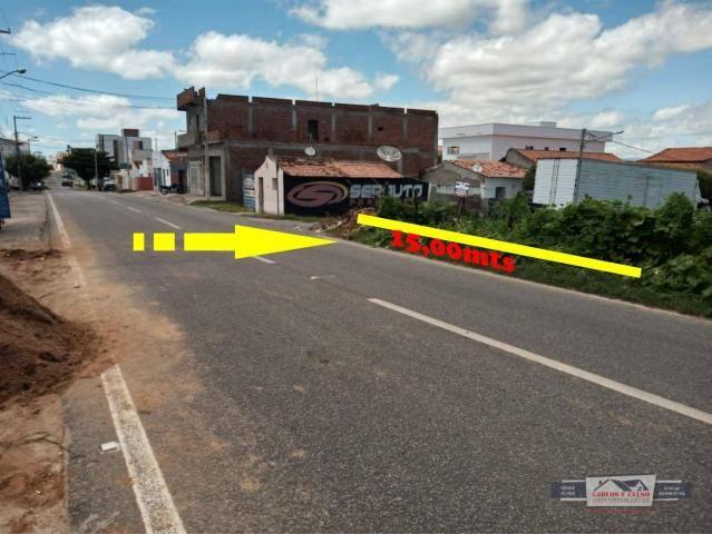 Terreno à venda, 360 m² por R$ 180.000,00 - Centro - Patos/PB