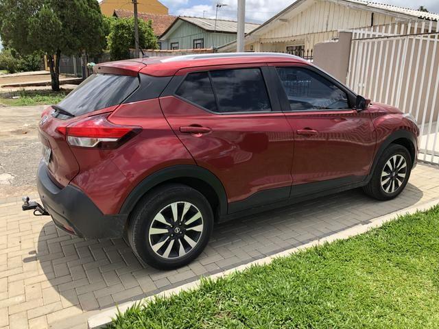 Kicks 2018 1.6 modelo S Flex Vermelho primeiro dono - Foto 3