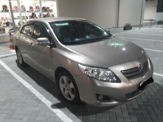 OPORTINDADE - Corolla 2009 1.8 flex automatico